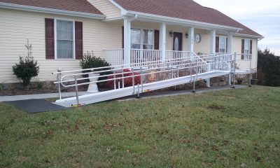 Easy-to-install Aluminum Ramp