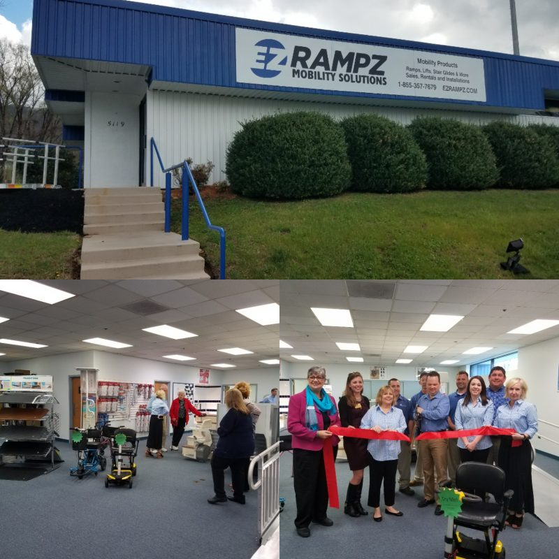 Hollins Rd. showroom grand opening