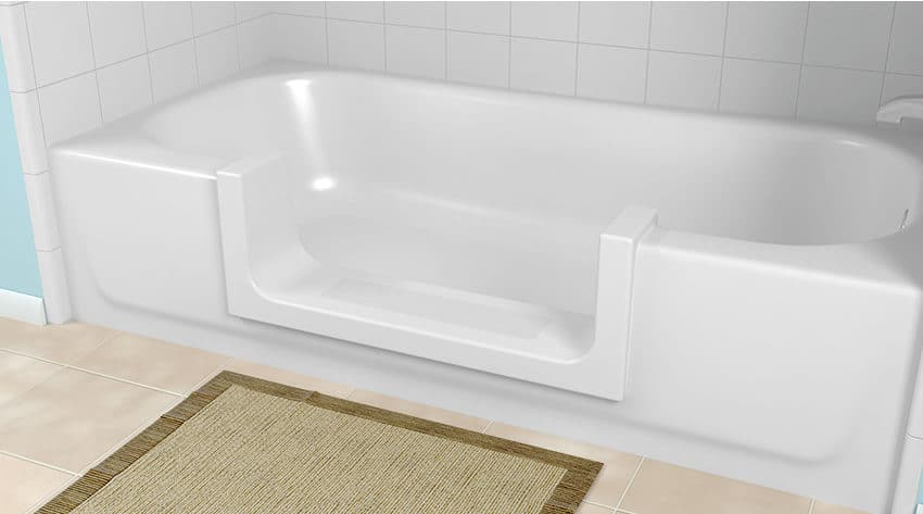 CleanCut Step-in Tub Installed