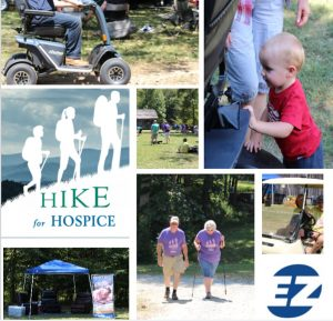 Hike for Hospice 2019 picture collage