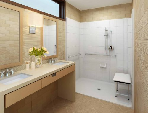 How do I make my bathroom handicap accessible?