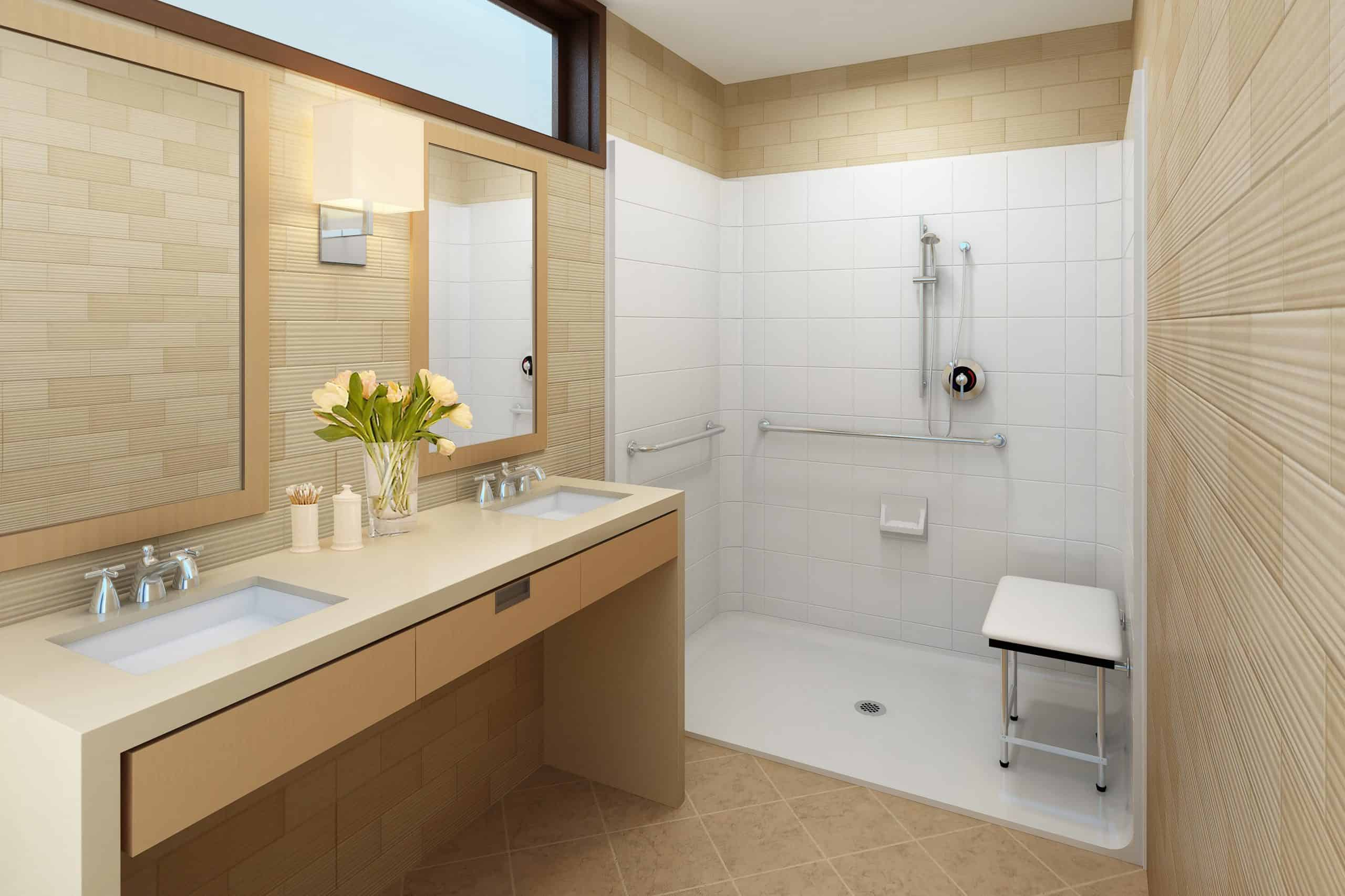 handicapped accessible bathroom solutions